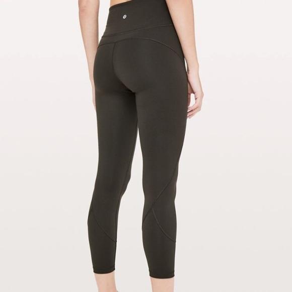 bf481d4bdd374 lululemon athletica Pants - LuLu Lemon Yoga Pants Size 6 Dark Olive Green